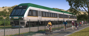 SMART, train, federal, Larkspur extension