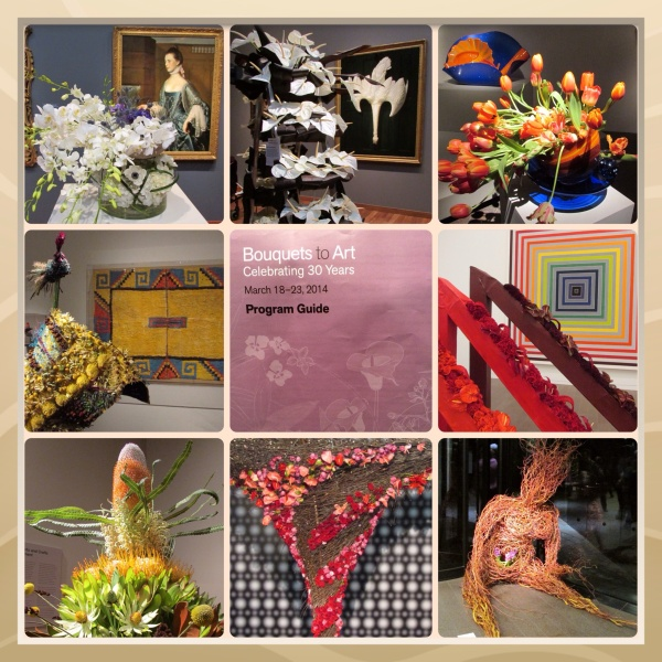 Bouquets to Art 2014 ~ de Young Fine Arts Museum San Francisco, CA