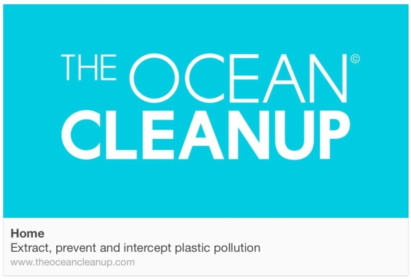 The Ocean Clean Up campaign and Boyan Slat's creative solution to address and clean up the growing plastic pollution problem.