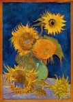 Six Sunflowers – Vincent Van Gogh, Aug 1888.
