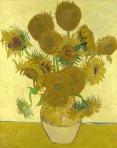 Fifteen Sunflowers – Vincent Van Gogh, Aug 1888.