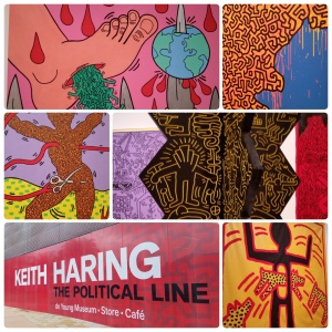 Keith Haring: The Political Line, at the de Young museum, #1