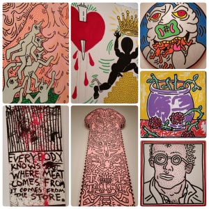 Keith Haring: The Political Line, at the de Young museum, #2