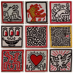 Keith Haring: The Political Line, at the de Young museum, #3