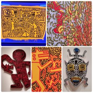 Keith Haring: The Political Line, at the de Young museum, #4