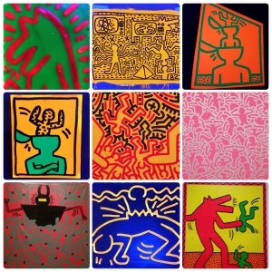 Keith Haring: The Political Line, at the de Young museum, #6