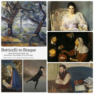 Botticelli to Braque exhibition #1
